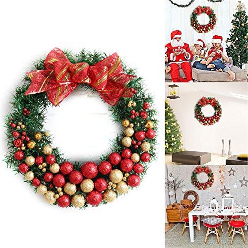 Weihnachtliche Hausdekoration, Weihnachtskranz a