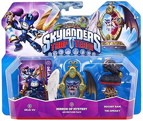 Figurine Skylanders : Trap Team - Déjà Vu + Mirror Of Mystery + Rocket Ram + Tiki Speaky