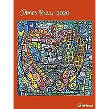 Art Calendar - James Rizzi 2020 Poster Calendar