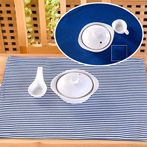 Sets De Table Sets De Table/De Salle À Manger Tissé En/Non-Skip Résistant À La Chaleur De Cuisine De Bande En Sets De Table/35*45Cm SHOME