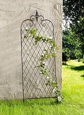 RANKGITTER Raute METALL RANKHILFE GARTENDEKO ROSENSÄULE ROSENGITTER KLETTERROSE von Dekoleidenschaft auf Du und dein Garten