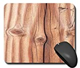 Mausp1423 Mauspad Holz optik Wood tree Mausunterlage Mausmatte Mousepad Pc Computer NEU