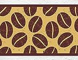 """I-love-Wandtattoo b-10092 Küchenbordüre """"Kaffeebohnen"""" Bordüre Küche Kaffee Wanddeko"""
