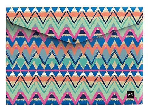 miquelrius-20152-pack-de-2-sobres-polipropileno-210-x-297-mm-multicolor