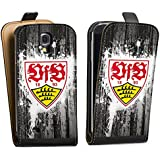 Samsung Galaxy S4 mini Tasche Hülle Flip Case VfB Stuttgart Fanartikel Bundesliga Fußball