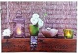 Tinas Collection LED Bild mit dem Motiv -Laterne-, 45 x 30 cm, mit LED Beleuchtung