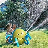 Leiyini Aufblasbare Wasser Spray Ball Kinder Wasser Sprinkler Spielzeug Sommer Outdoor Fun Spielzeug ideal für Garten, Hinterhof Aktivitäten & Partys (A)