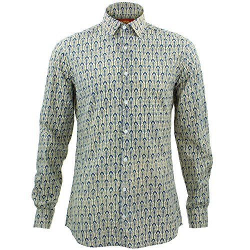 Loud Originals Tailored Fit Long Sleeve Shirt - in Bloom
