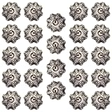 #9: Amber Shine Ceramic Door Knobs Handpainted & Decorative/ Door Handles/ Cabinet/ Wardrobe / Almirah / Drawer / Door Pulls/ Cabinet Pulls/ Drawer Pulls (Set of 24)