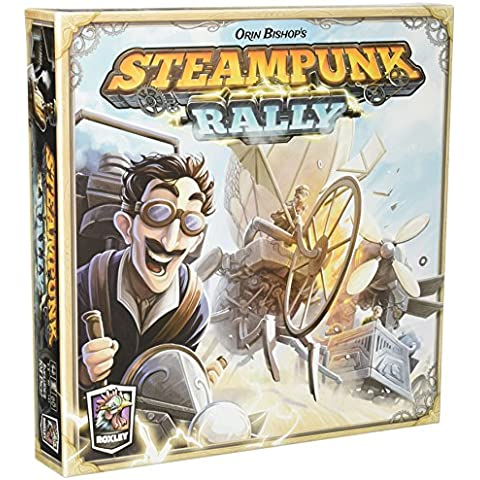 Steampunk Rally - Board Game - Englisch