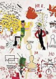 Jean-Michel Basquiat – Riddle Me This Batman 1987 Poster Drucken (14,94 x 20,96 cm)