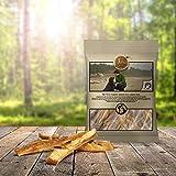 Tiera Premium Rinderkopfhaut Kausticks vom Simmental Rind 200g | Gesunde Hundeleckerlie Rind | Kaustangen Hund