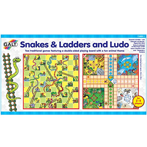 Snakes and Ladders and Ludo Classic Game Set - Great Value!