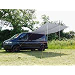 DEBUS Campervan Sun Canopy Awning - Anthracite Grey 15