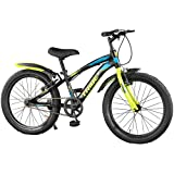 """Lifelong LLBC2001 Tribe 20T Cycle (Yellow and Black) I Ideal for: Kids (5-8 Years) I Frame Size: 12""""   Ideal Height : 3 ft 10"""