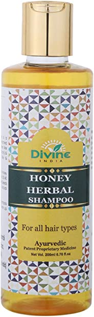 Divine India Honey Shampoo, 200ml