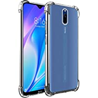 Amazon Brand - Solimo Mobile Cover (Soft & Flexible Shockproof Back Case with Cushioned Edges) for Xiaomi Redmi 8A Dual…
