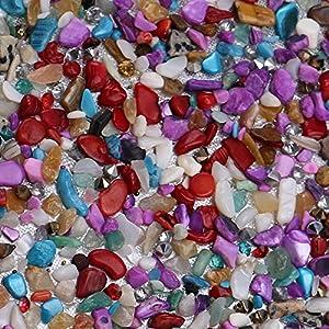 61StckKQH0L. SS300  - Kentop Bolsas de Embrague para Mujer con Piedra Incrustada Coloreado Bolso de Noche para Boda Partido Fiesta