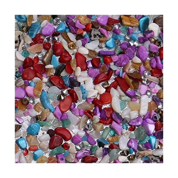 61StckKQH0L. SS600  - Kentop Bolsas de Embrague para Mujer con Piedra Incrustada Coloreado Bolso de Noche para Boda Partido Fiesta