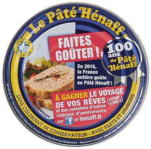 Hénaff Pâté de Porc Sans Gluten 154 g