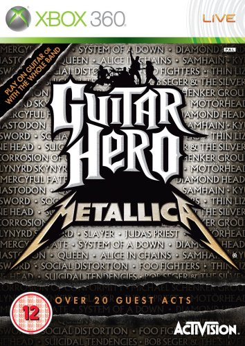 Guitar Hero: Metallica - Game Only (Xbox 360)[Importación inglesa]
