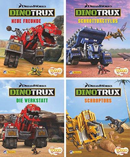 Preisvergleich Produktbild Nelson Mini-Bücher: 4er Dreamworks Dinotrux 1-4
