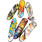 D-Mcark Hand Finger Mini Skateboard Set Toy Circuit Boards Colors May Vary