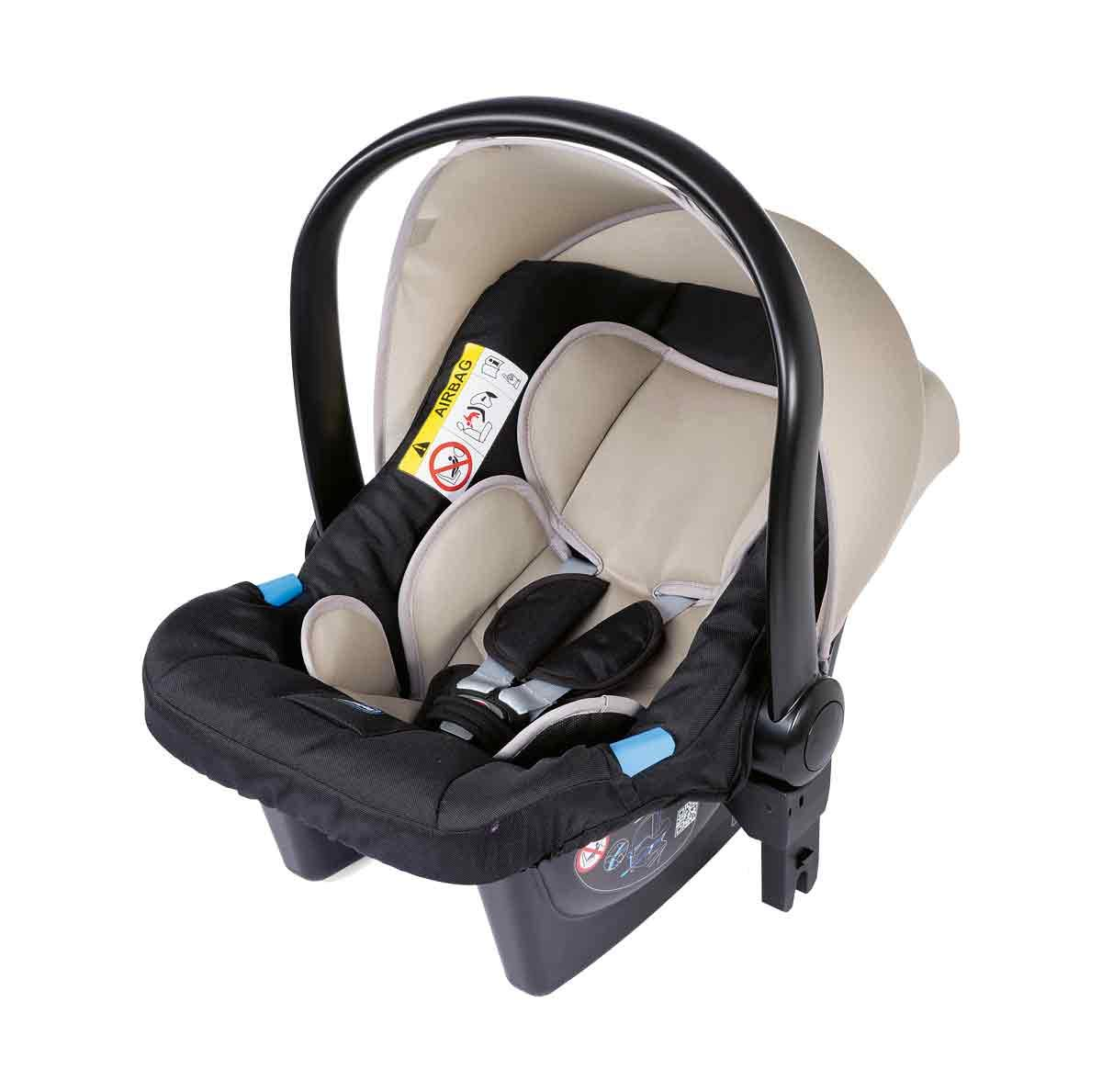 Trio Best Friend Beige 2019 Chicco A stylish and matching 3-in-1 set that is lightweight, versatile and practical Set includes Stroller Pushchair, Carrycot and Carseat Suitable for use from Birth to approx 3 years (Carrycot up to 6m / Carseat up to 13kg) 5
