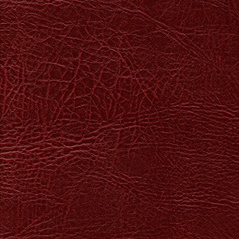 DARK RED 54 inch wide Leatherette Vinyl Fabric Fire Retardant Faux Leather Upholstery Material Sold by the metre