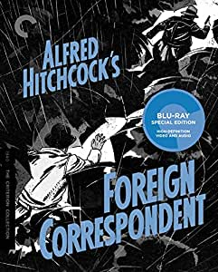 Criterion Collection: Foreign Correspondent [Blu-ray] [1940] [US Import]