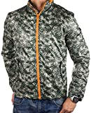 SELECTED HOMME Herren Übergangsjacke CAMO (L, Grau (Grey Fit:REG CAMO Palm))
