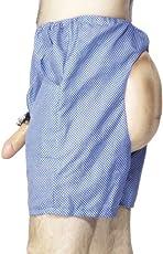 Smiffys - Unterhose Shorts Po und Willy Scherzartikel