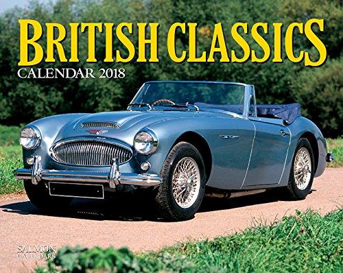 * NEW * British Classics Cars Calendar 2018 - Cameracolour Series