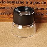 Rrimin 10X Magnifying Glass Magnifiers Microscope For Jeweler Loupe Stamp Antique