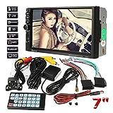 """Diadia 7"""" 2 DIN HD Bluetooth pantalla táctil coche reproductor de DVD receptor GPS navegación TFT® pantalla táctil reproductor Bluetooth Auto estéreo Radio BT/FM/TF/USB MP5 cámara de visión trasera."""