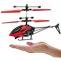 TOYSWALA RC Infrared Induction Electronic Sensor Helicopter (Without Remote) USB Charging and Flashing Lights Toys for…