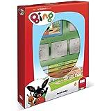 Multiprint Box 4 Timbri per Bambini Bing, 100% Made in Italy, Set Timbrini Bimbi Personalizzati, in Legno e Gomma Naturale, I