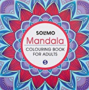 Amazon Brand - Solimo Mandala Colouring Book for Adults 5