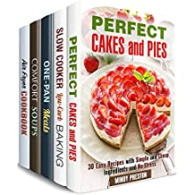 Taste of Comfort Box Set (5 in 1): Over 150 Cakes, Pies, Soups and Other Family Favorite Meals (Homemade Recipes) (English Edition)