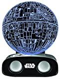 BlueSky Design Enceinte Bluetooth Sans Fil Réactive Star Wars Death Star - Noir