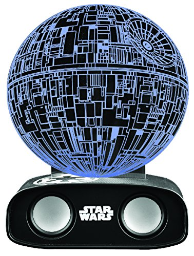 BlueSky Star Wars Death Star Altavoz Bluetooth con Sonido Reactivo Estrella de la Muerte