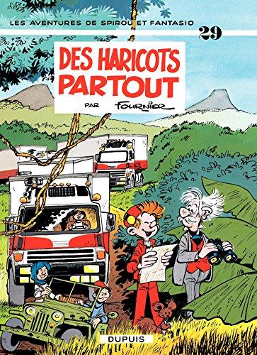 Spirou et Fantasio - Tome 29 - DES HARICOTS PARTOUT par Fournier
