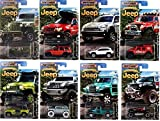 2016 Matchbox Jeep Anniversary Edition Jeep Set of 8 Cars by Matchbox