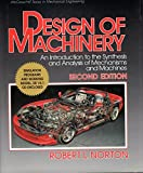 Design of Machinery (McGraw-Hill Series in Mechanical Engineering) by Robert L. Norton (1998-08-01)