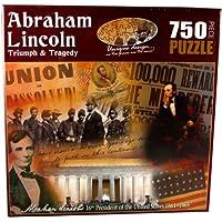 Comparador de precios American History Abraham Lincoln Triumph and Tragedy Jigsaw Puzzle (750-Piece) by American Documents - precios baratos