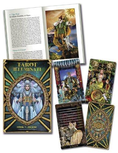 Tarot Illuminati [With Book(s)] by Erik C. Dunne (8-May-2013) Cards