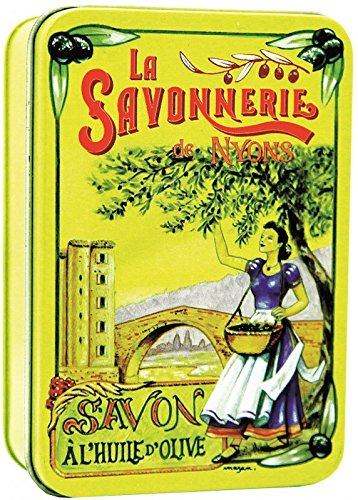 Preisvergleich Produktbild La Savonnerie de Nyons - Seife in Metalldose Le Pont,  200 g
