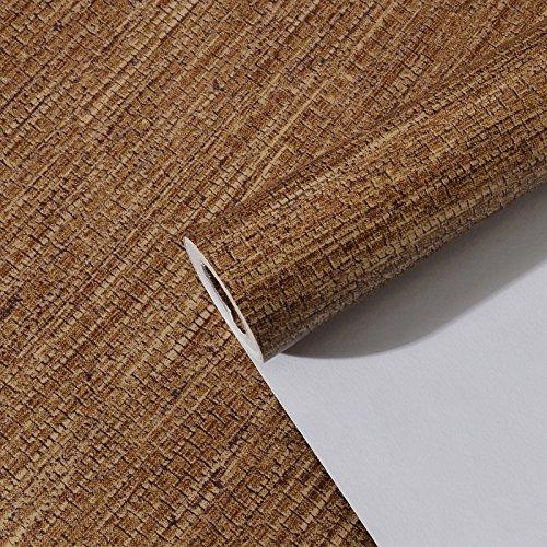 Rinde Wohnzimmer (Reyqing Farbe Spinning Reines Papier Tapete Plain Einfache, Moderne Schlafzimmer Wohnzimmer Tv Hintergrundbild, Rinde 2276, Wallpaper Nur)