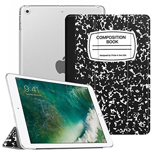Coque iPad 9.7 2018 / 2017 - Fintie SlimShell Cover Etui Housse avec support ultra-mince et léger avec semi-transparent protecteur et la Fonction Somm...