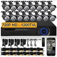 Gowe 16 CH AHD 720p DVR kit CCTV sistema video video video 16 x 720p 1200TVL indoor outdoor telecamera di sicurezza set 16 canali | Impeccabile  | Prezzo ottimale  | Acquista  b43e7e